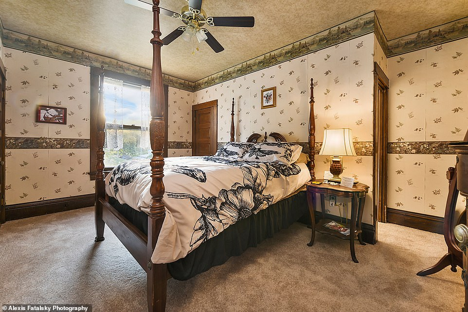 Options: Guests can also sleep in the 'Hannibal' room, the 'Clarice' room, or the 'Precious' room