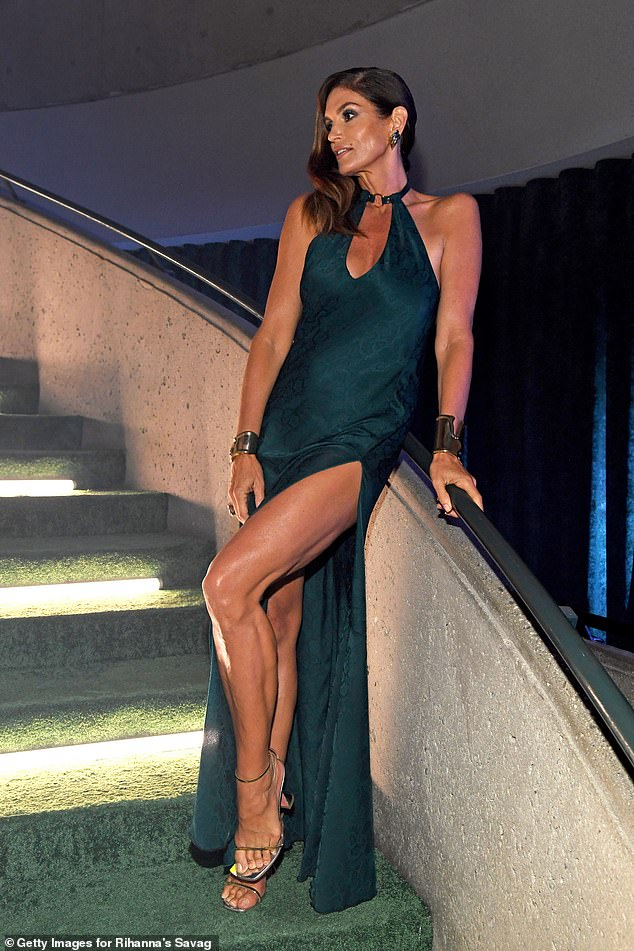 , Cindy Crawford looks undeniably glamorous as she stars in Rihanna's Savage X Fenty Show Vol. 3, The Today News USA