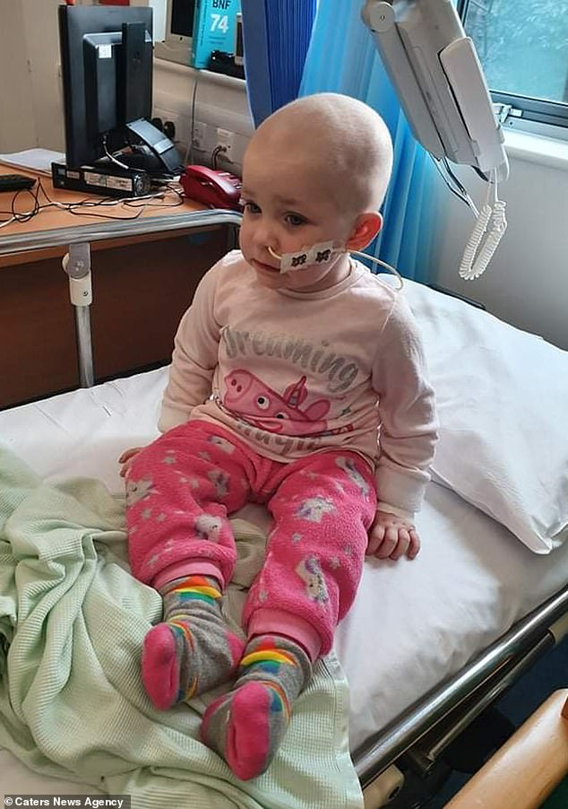 In June 2019, he was diagnosed with acute lymphoblastic leukemia after doctors mistakenly thought he was suffering from a cold.  She has spent most of the past two years in the hospital receiving chemotherapy, steroid medication, as well as platelets and blood transfusions