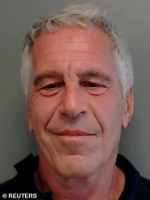 Giuffre alleges that she was trafficked by Jeffrey Epstein (above) and that Andrew had sex with her knowing this