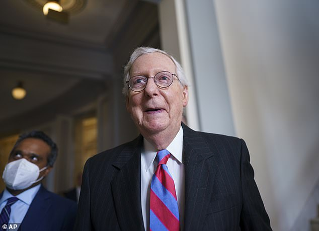 McConnell has said that he does believe the debt ceiling should be raised, but that Democrats should do it on their own without Republican help using budget reconciliation