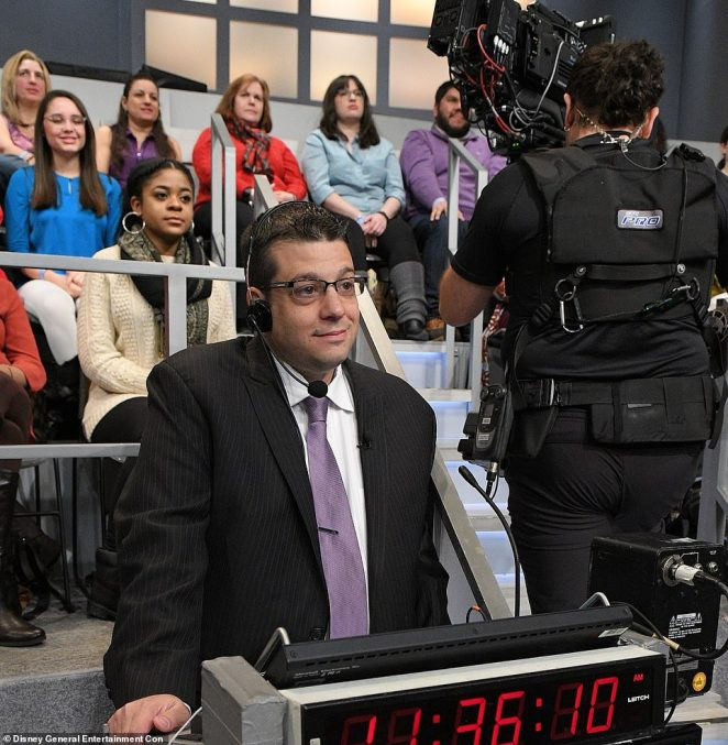 The source said The View's original co-creator, Barbara Walters, once had tight control over the production. However, they claimed the show has spiraled out of control since Brian Teta (pictured) joined six seasons ago.