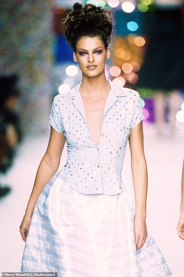Back in the 1990s, Linda Evangelista was the catwalk queen with her posse of supermodel peers - Naomi Campbell, Cindy Crawford, Christy Turlington and Claudia Schiffer