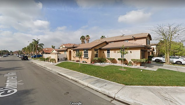 Riverside County police discovered the stash inside a Glimmer Way home in Perris, California
