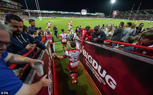 Leicester faced a hostile atmosphere as they took on Gloucester in a Premiership away fixture