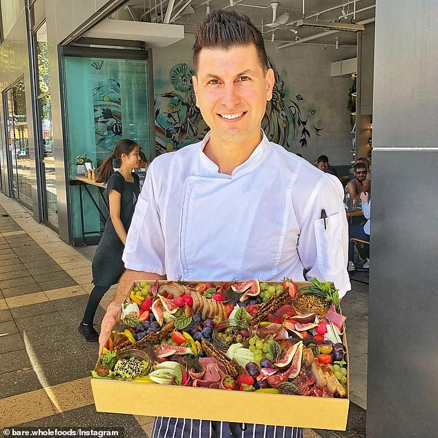 Anthony Milotic (pictured) who owns Bare Wholefoods in Mona Vale and St Leonards said the business will operate as takeaway only after NSW hits 70 per cent vaccination