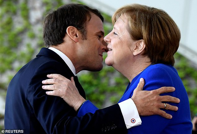 Emmanuel Macron and his grand European project tried to steal Merkel's crown after his election in 2017