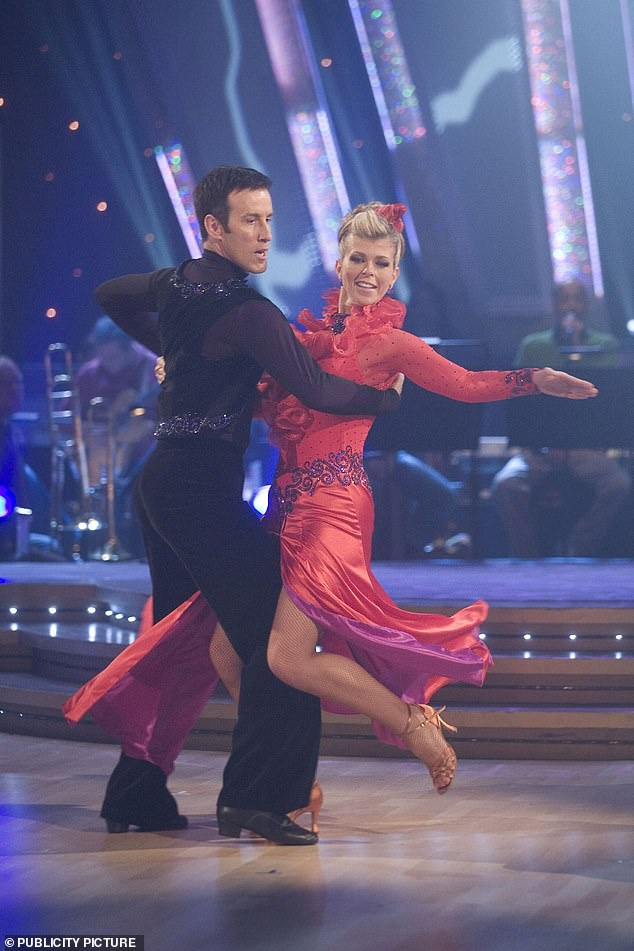 Back When: Anton was the longest-serving professional and has appeared on the show since its 2004 debut;  Picture with Kate Garraway in 2007