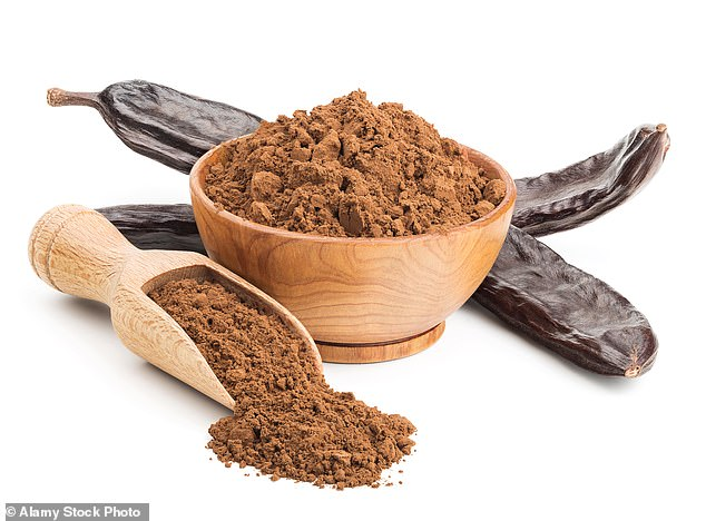 Maya cites research showing that carob reduces production of the hunger hormone, ghrelin, so it is potentially useful for losing weight.
