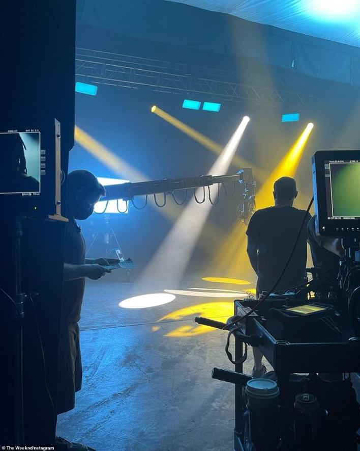 BTS on-set snap from September 2! The son of Ethiopian immigrants will next produce, co-write, and star in Sam Levinson and Reza Fahim's drama series The Idol for HBO