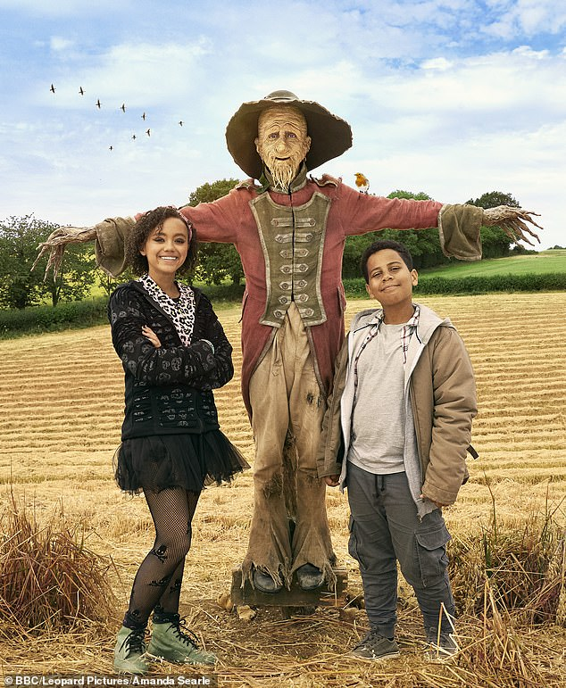 The 49-year-old badass, who starred as the popular Walking, Talking Scarecrow on the BBC program, has created three new episodes of his show inspired by the classic books by Barbara Eufan Todd.