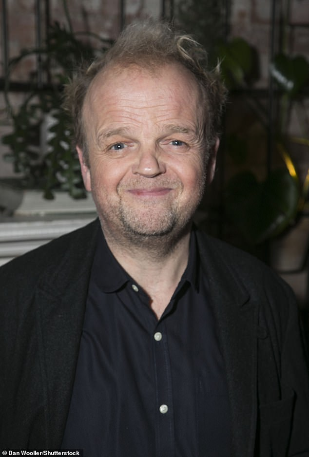 Returning co-star: Toby Jones will appear with Mackenzie, when they previously appeared together on Comedy Detectors from 2014 to 2017