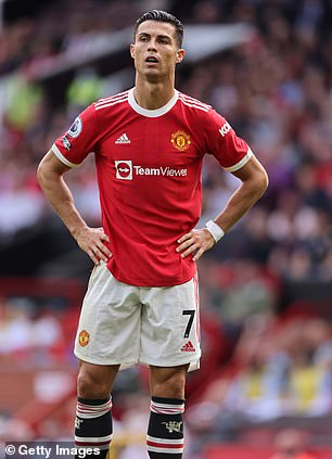 Cristiano Ronaldo was depressed after a 1-0 loss to Aston Villa at home