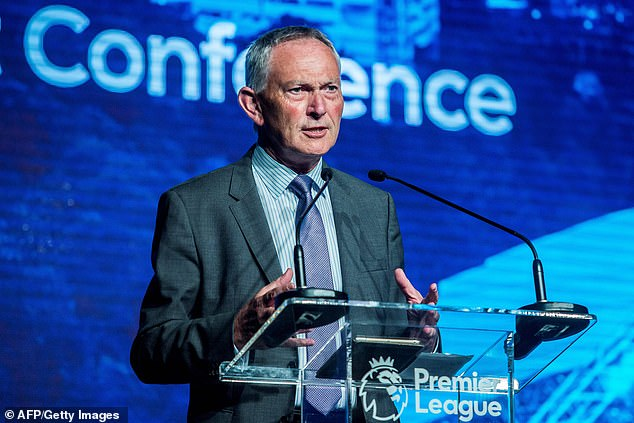 The news comes more than a decade after former Premier League chief executive Richard Scudamore (pictured above) scrapped the 'Game 39' idea due to major opposition.