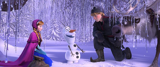 The 2013 film Frozen is one of the most successful films of all time and is set in winter
