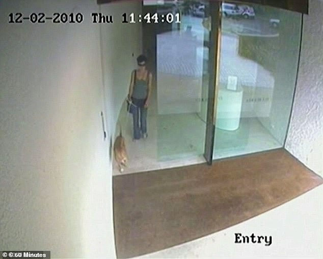 Police neglected to secure all the CCTV footage from the apartment block on the night of her death (MsHandsjuk pictured the day she died)