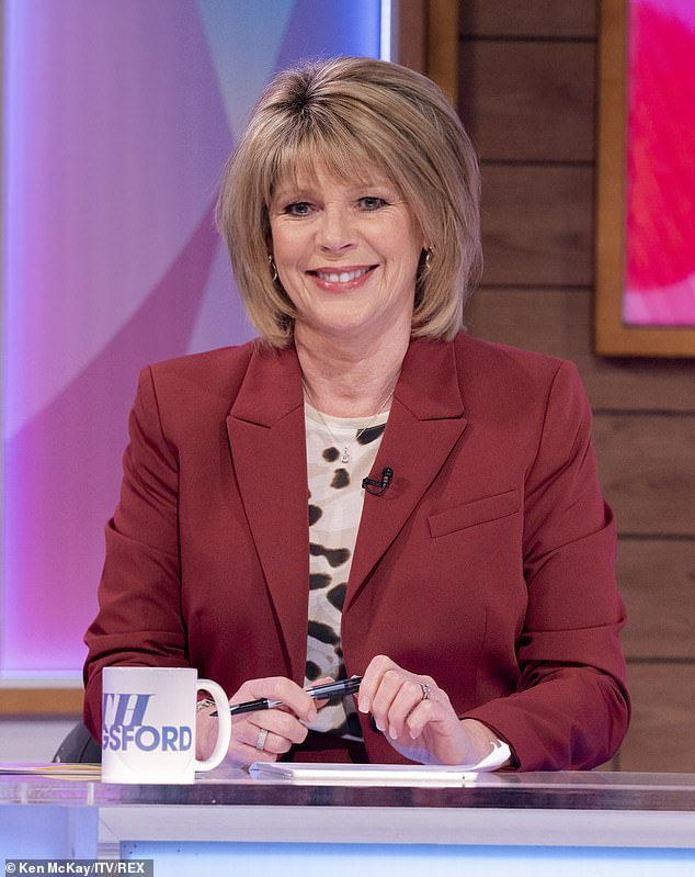 Honest talk: Ruth Langsford tells her Loose Women co-stars on Monday as she talks to her 19-year-old son, Jack, about sexual consent