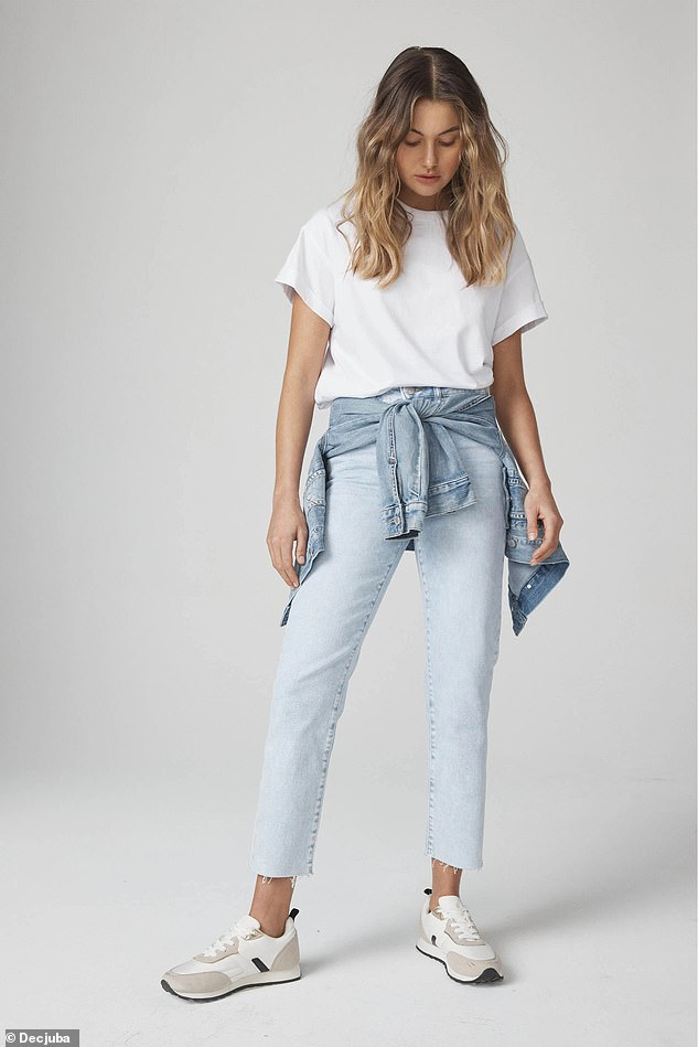 Donny also loves these $109.95 'Becky' jeans from Decjuba, which are made from a stretchy denim that flatters both the bum and the legs
