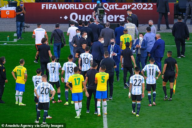Brazil's health authorities have abandoned Argentina's game with Brazil after four Premier League players did not quarantine when they arrived in South America