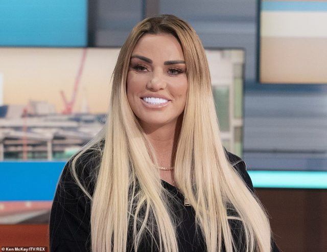 It comes just hours after Ms Price told Good Morning Britain of her pain that being disqualified from driving meant she could not visit her oldest son Harvey at his residential college when he calls to say he misses her