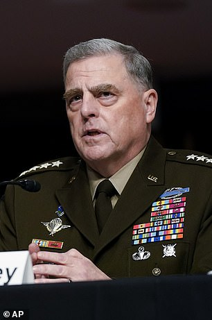 Joint Chiefs of Staff chairman Mark Milley