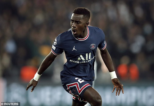 Idrissa Gueye's night was so much more than merely scorching home the opening goal