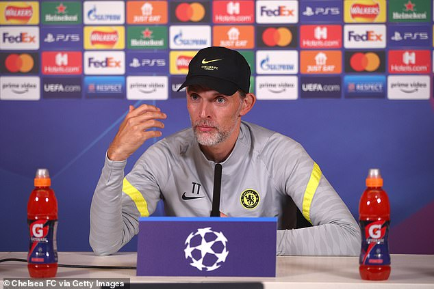 Thomas Tuchel, the Chelsea boss, has said he can't and won't force players to get vaccinated