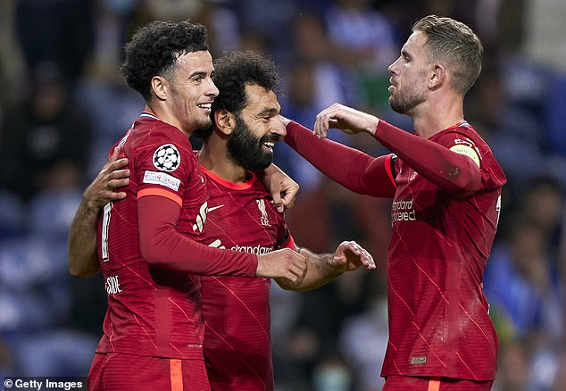 Curtis Jones produced one of his best displays for Liverpool yet in their 5-1 win over Porto