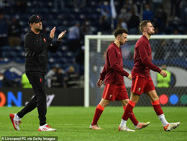 Klopp insisted that the result is the most important aspect of a successful evening for his team