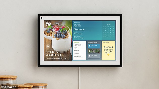 Other products announced by Amazon yesterday include the Echo Show 15.  It has a 15.6-inch display that you can mount on your wall or on your counter