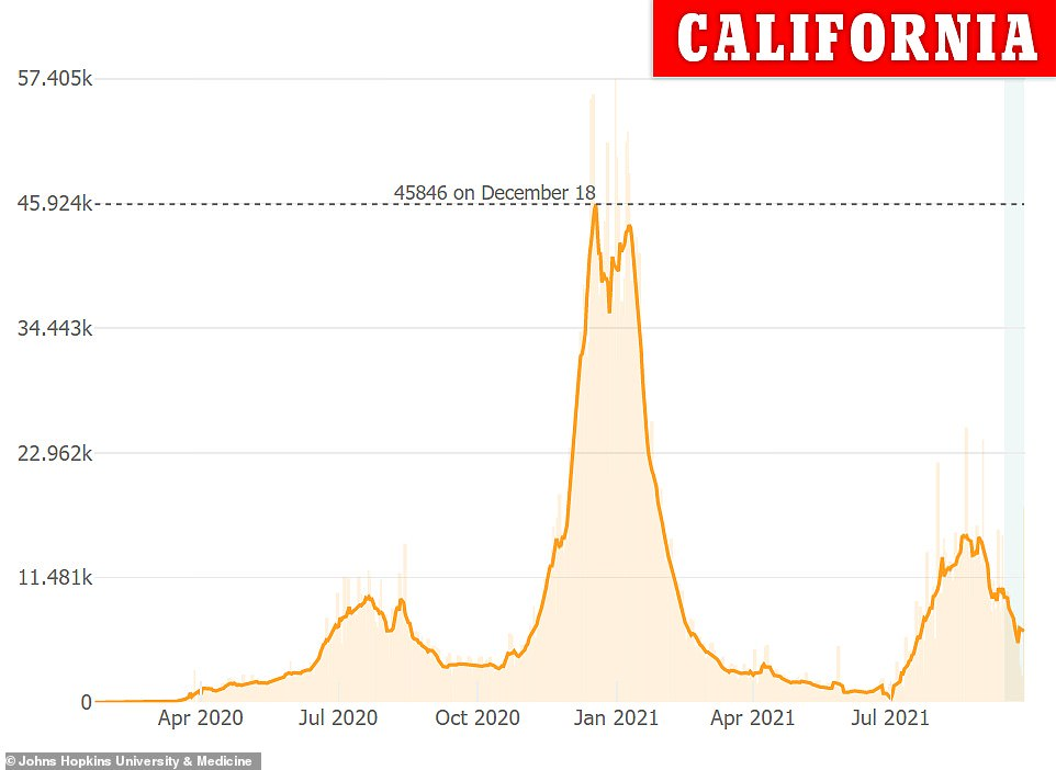 , COVID-19 US: Cases continue to decline with 26% drop over the last month, The Evepost National News