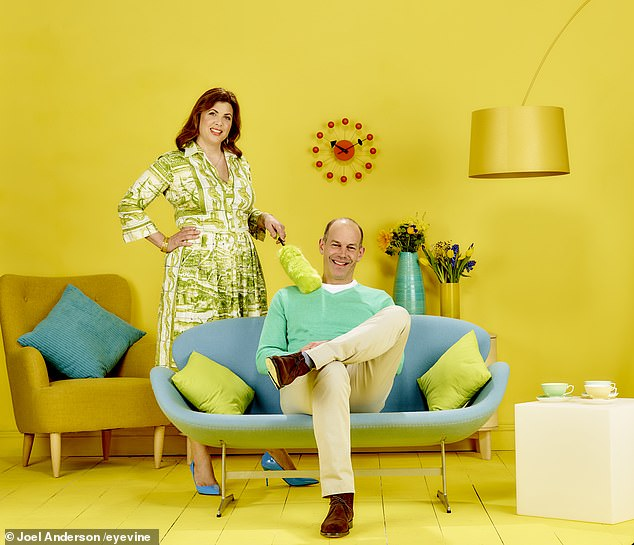 Phil Spencer and Kirsty Allsop (pictured) are returning to the screens for the 36th series of Channel 4's Location, Location, Location