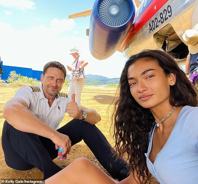 Taking her career to new heights!Last week, the Aussie beauty posted several behind the scenes images of her filming the flick alongside her hunky Scottish co-star Gerard Butler