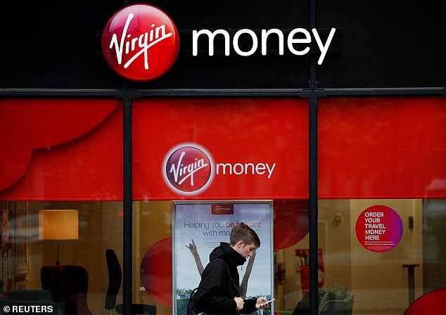 Closure: Virgin Money has announced it is closing 31 bank branches and eliminating about 112 jobs