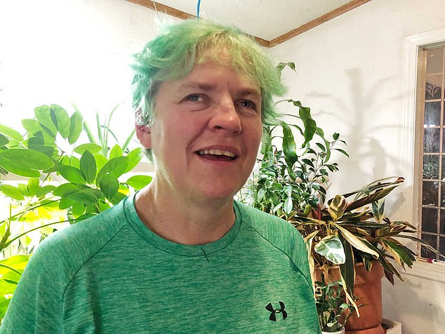 Carlene Knight, 54, of Portland, Oregon, said she could finally see color for the first time since she was a child, which she described as