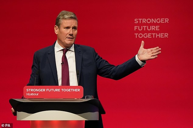 Sir Keir Starmer, leader of the UK's opposition Labour Party, today announced, without any prompting, that he wants the next James Bond to be a woman