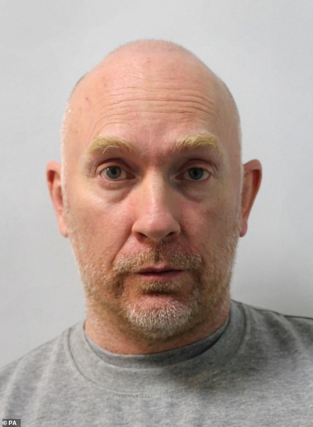 Sentencing Couzens to spend the rest of his life in prison yesterday, Lord Justice Fulford said the CCTV footage 'revealed with absolute clarity the core essentials of what had occurred'