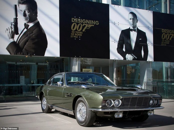 This green Aston Martin DBS-6 from On Her Majesty's Secret Service was exported to Australia, where it was sold in 1978 at a 182% premium to the then normal prices.  It is still owned by the same person today.