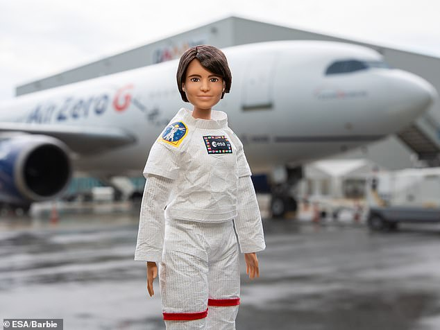 The doll will join Cristoforetti when she travels to the International Space Station in 2022, where the Italian astronaut will become its first female European commander