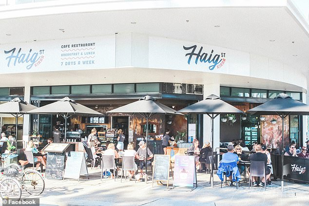 The Premier attended Haig Street Cafe and Restaurant in Kirra on the Gold Coast at about 9am on September 27, just over an hour after a Covid-positive person visited