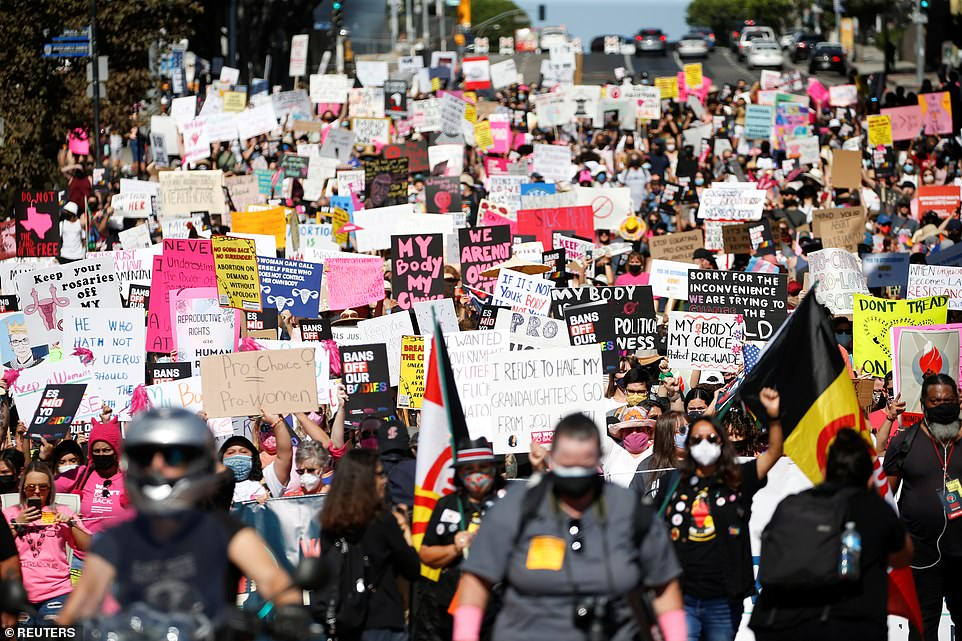, Women take to the streets across the US to protest Texas abortion law, Nzuchi Times National News