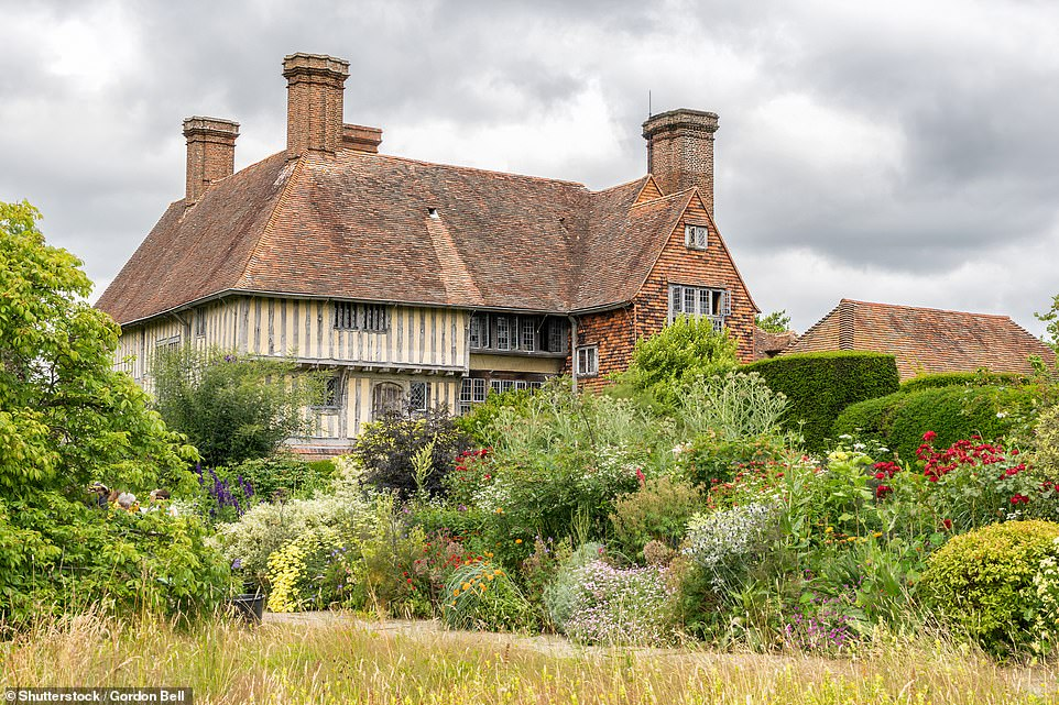 A dozen miles away from Sissinghurst at the historic house at Great Dixter yet another fine garden awaits