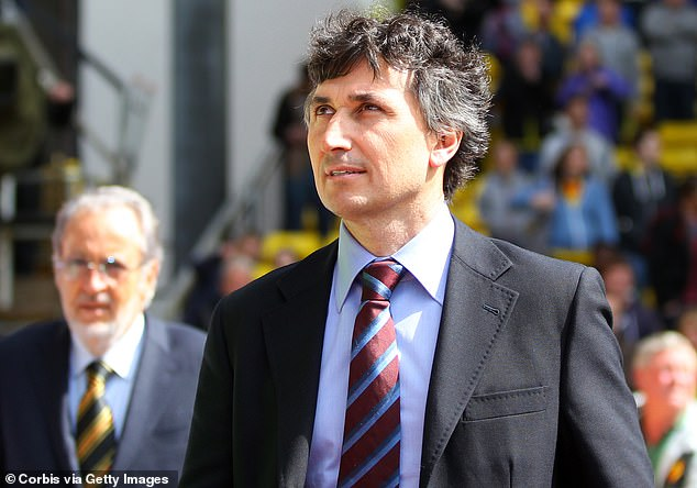 Watford boss Gino Pozzo (above) has sacked seven managers over the past five years