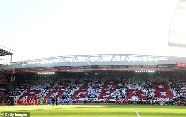 Kopp paid tribute to former Liverpool great Roger Hunt against Manchester City on Sunday