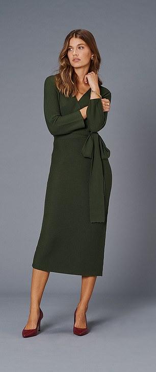 Dress, £150, jaeger.co.uk