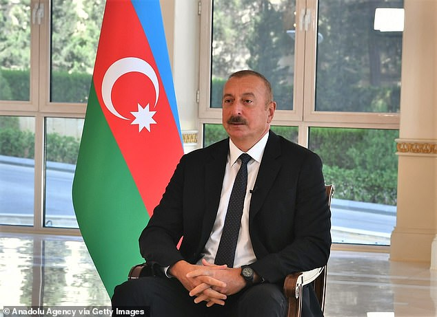 Azerbaijani President Ilham Aliyev and his family and close associates snapped up more than £400million worth of property in the UK using offshore accounts, the papers revealed.