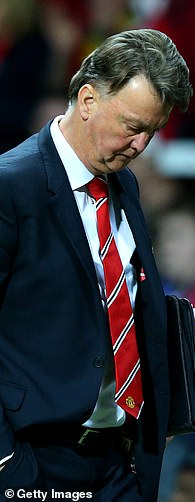Louis van Gaal could only enter the FA Cup before departing