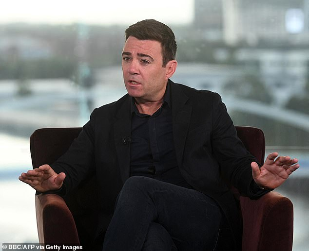 You might have thought that the so-called King of the North, Andy Burnham, who angered several Labor MPs at his party's convention last week, is now running a Tory convention in Manchester.
