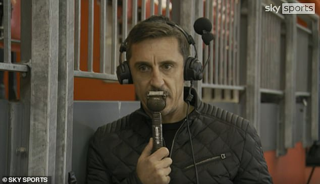 Gary Neville impressed by Sancho's performance after coming to Old Trafford