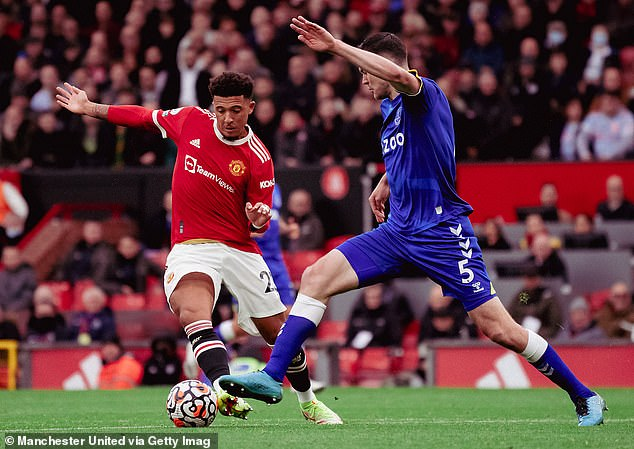 Sancho now leaves with England for World Cup qualifiers ahead of tough times for United